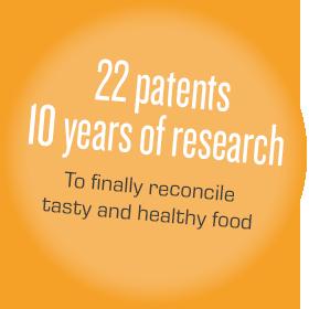 22 Patente 10 Jahre Forschung Um endlich ebenso leckeres, wie gesunde Speisen zuzubereiten
